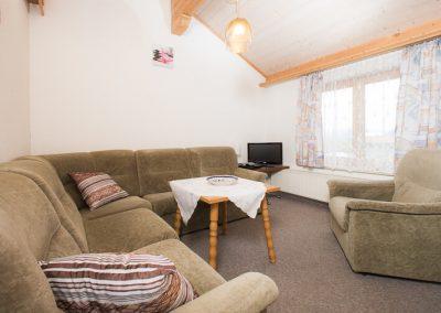 Wohnzimmer-Ferienwohnung